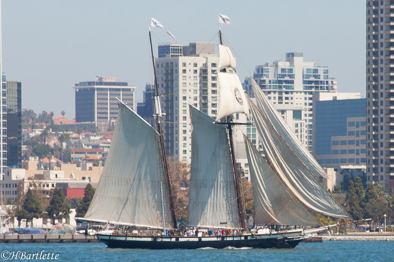 Sailing ships San Diego