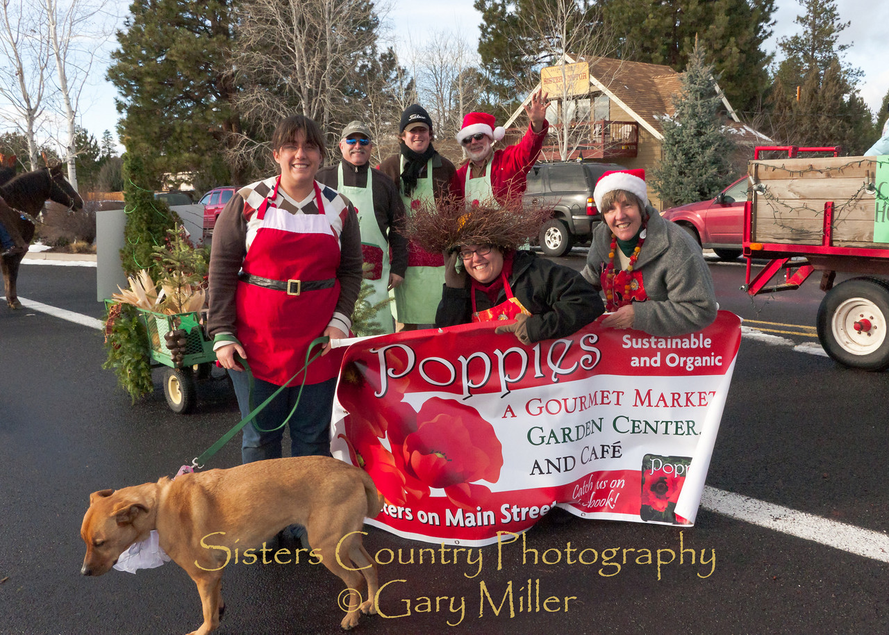 Sisters, OR -  Christmas Parade, 2010 - Gary Miller - Sisters Country Photography