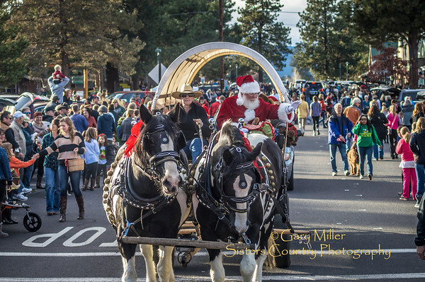 2013 Christmas Parade in Sisters, Oregon - Copyright © 2013 Gary N. Miller, Sisters Country Photography