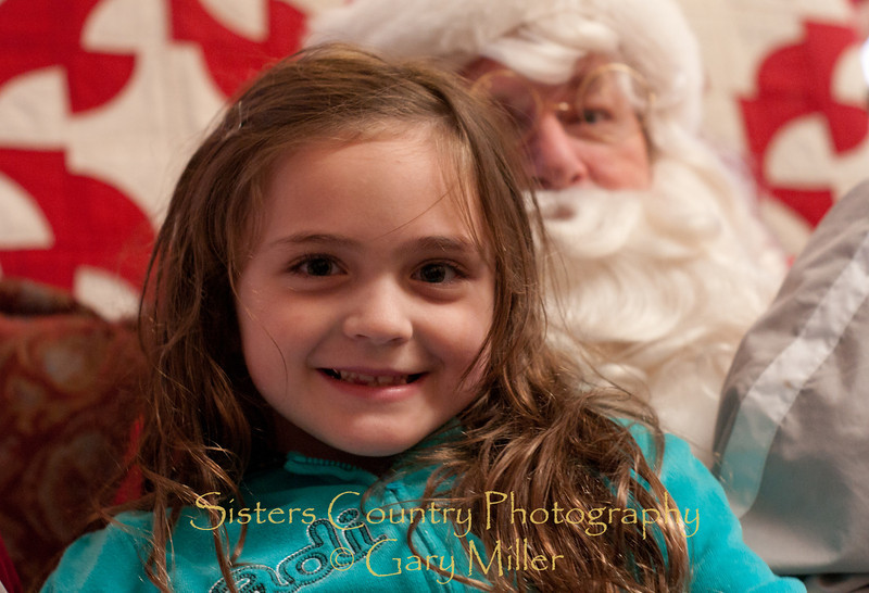 Santa Visits Sisters, OR - 2010 - Gary Miller - Sisters Country Photography