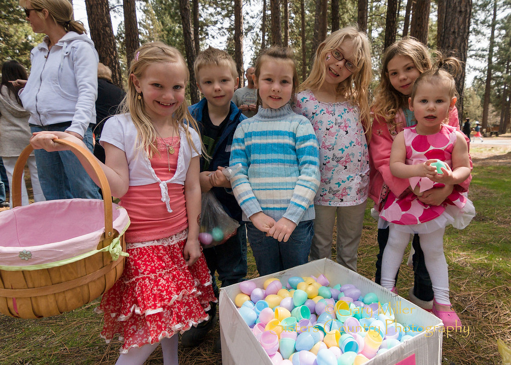 Easter Egg Hunting in Sisters, OR 2012 - Gary N. Miller - Sisters Country Photography