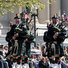 Whats a parade without bagpipes?