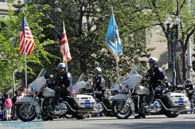 The DC motorcycle cops.