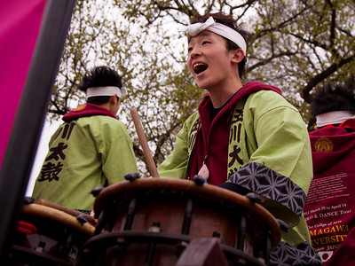 Japanese (Taiko) Drumming by Takagawa University