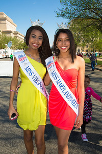 Miss Teen Virginia and Miss Teen Maryland