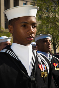 U.S. NAVY MARCHING PLATOON