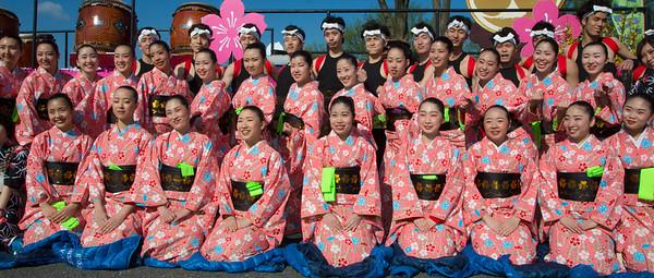 TAMAGAWA UNIVERSITY DRUMMERS & DANCERS