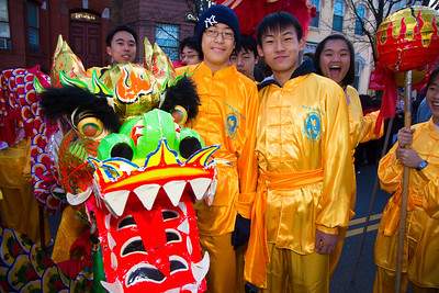 New World Bilingual Institute    Kevin Liu   Kevin Yu Students of the New World Bilingual Institute at George Mason University perform in the 2013 Chinese New Year parade in D.C.