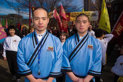 Shaolin Temple -              Shi Heng Jin and Shi Heng Qinj