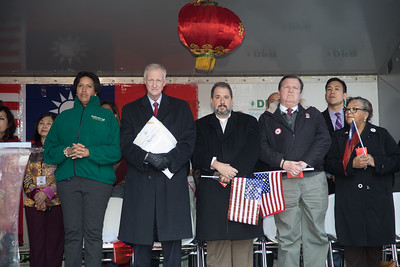 Stanley Kao, Wally Lee, Muriel Bowser