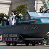 only the navy has to have a boat in the parade