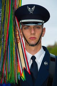 Member of the color guard (U.S. Air Force)
