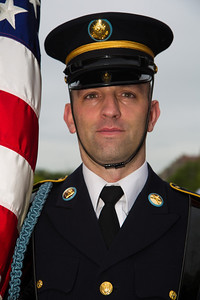 Member of the color guard (U.S.Army)