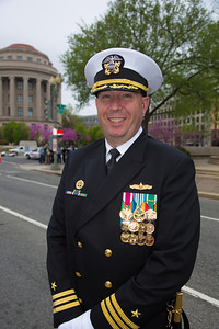 Commander Nathan Strandquist, Commanding Officer, Navy Ceremonial Guard