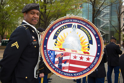 Cpl. Anthony Jenkins of the District of Columbia National Guard