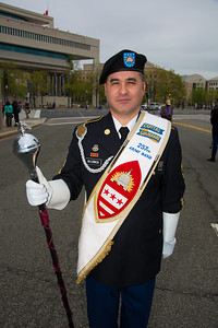 Brian McCommon- Drum Major 257th Army Band, D.C. National Guard
