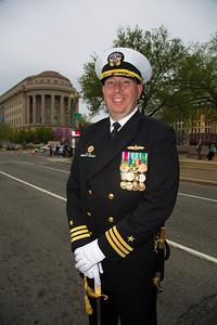 Commander Nathan Strandquist, Commanding Officer, Navy Ceremonial Guard