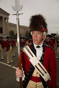 Assistant Drum Major SSG Jonathan DeWitt  The Old Guard Fife and Drum Corps is the only unit of its kind in the armed forces, and is part of the 3rd U.S. Infantry Regiment (The Old Guard). The Fife and Drum Corps is stationed at Fort Myer, VA.