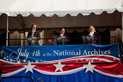 reading of the Declaration of Independence