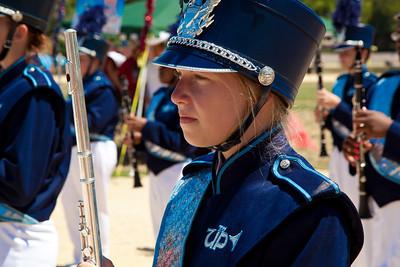 Union Pines High School Band of Cameron NC.