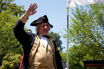 """JR """"States"""" Manship as George Washington"""