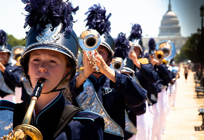 Union Pines High School Band of Cameron NC.