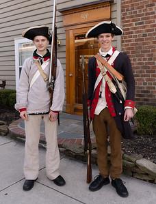 The 1st Virginia Regiment of the Continental Line Reenactors