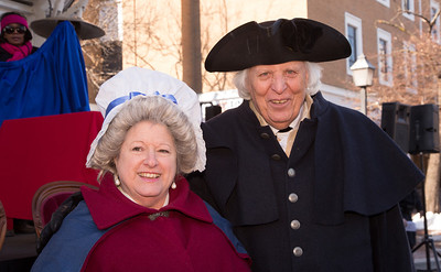 Gen. George Washington and Martha WashingtonKari La Belle and Don DeHaven