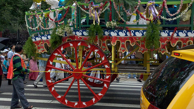 Indian Parade on 5th Ave, New York City
