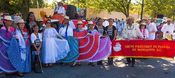 Grupo Folklorico de Panama en Washington D.C.