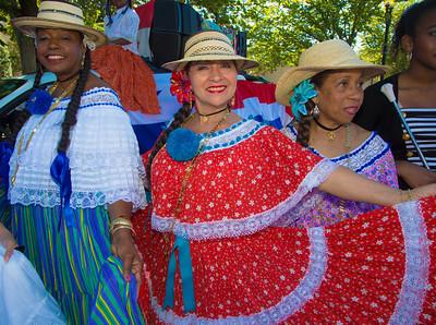 Ruphay,  Mauricio and Yordy Grupo Folklorico de Panama en Washington D.C
