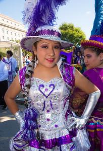 Katrina from Bolivia Morenada