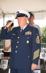Master Chief Petty Officer of the Coast Guard Shane Hooker