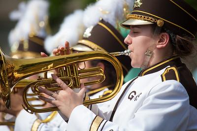 Garden City High School Buffalo Band Marching Stampede