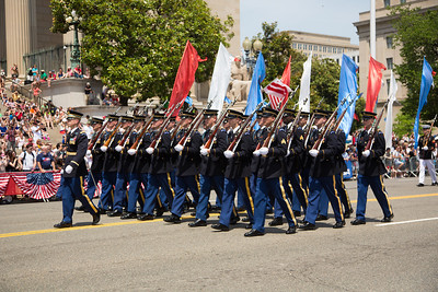 U.S. Army Marching Platoon