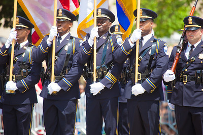 DC Special Police Color Guard