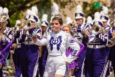 The Roarin' Band from Bobcat Land from Hallsville Texas