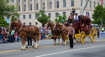 National Memorial Day Parade, Wells Fargo