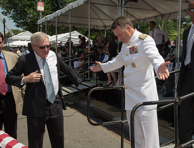 Admiral James A. Winnefeld Jr. (reviewing official). Adm. Winnefeld serves as the ninth Vice Chairman of the Joint Chiefs of Staff.