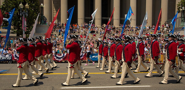 "The famed 3rd U.S. Infantry Regiment ""Old Guard"" Fife and Drum Corps"