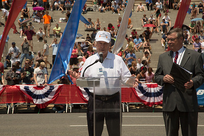 Grand Marshal - 2012 National Memorial Day Parade Chuck Yeager U.S. Air Force (Retired)