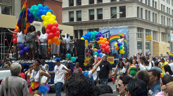 Gay Pride Parade, New York City, June 26, 2011