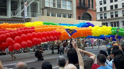 Gay Pride Parade, New York City, June 26, 2011