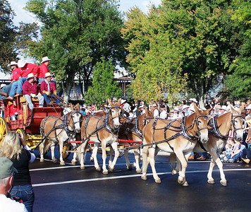 Pendleton Roundup Westward Ho! Parade. Pendleton, Oregon September 17, 2010