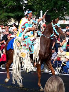 Pendleton Roundup Westward Ho! Parade. Pendleton, Oregon September 17, 2010