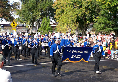 LaGrande, Oregon High School Marching Band  Pendleton Round-Up Parade 2010