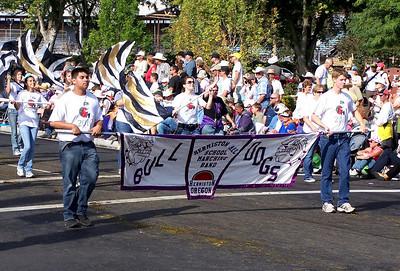 Hermiston,Oregon all school Marching Band