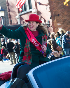 Allison Silberberg, Scottish Christmas Walk Parade