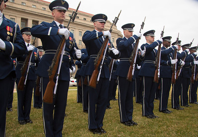 Air Force Marching Platoon