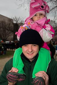 John Stevens and Michelle (age 2) of Olney MD